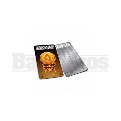 """V SYNDICATE DABIT CARD GRINDER & DAB TOOL W/ SILICONE CASE OIL HEAD Pack of 1 3"""" LENGTH"""