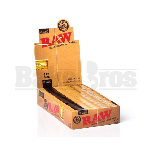 RAW CLASSIC ROLLING PAPERS 5 METERS UNFLAVORED Pack of 24