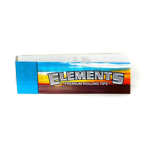 ELEMENTS PAPER ROLLING TIPS UNFLAVORED Pack of 1