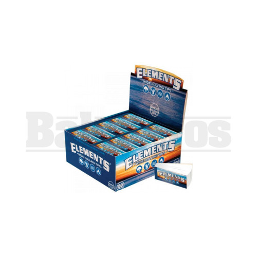 ELEMENTS WIDE ROLLING TIPS UNFLAVORED Pack of 50