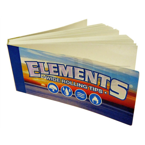 ELEMENTS WIDE ROLLING TIPS UNFLAVORED Pack of 1