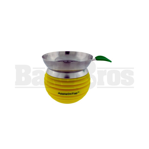 APPLE ON TOP HOOKAH BOWL YELLOW Pack of 1