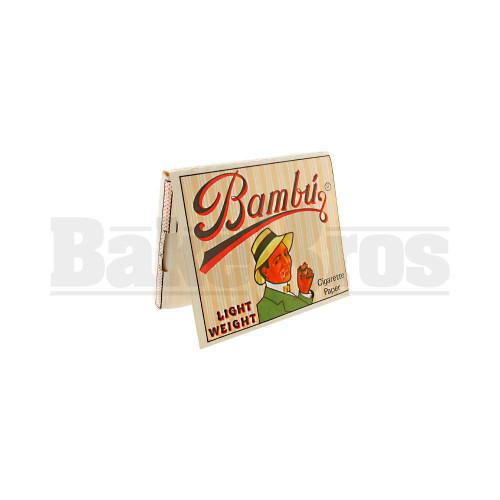 BAMBU PURE HEMP CIGARETTE PAPER UNFLAVORED Pack of 1
