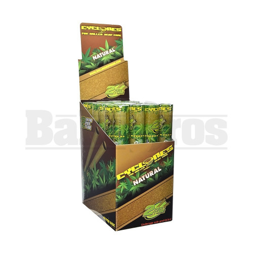 NATURAL Pack of 24