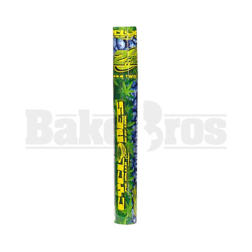 CYCLONES PRE ROLLED HEMP CONES 2 PER TUBE BLUEBERRY Pack of 1