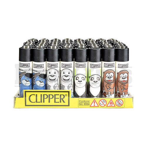 "CLIPPER LIGHTER 3"" BEARS ASSORTED Pack of 48"