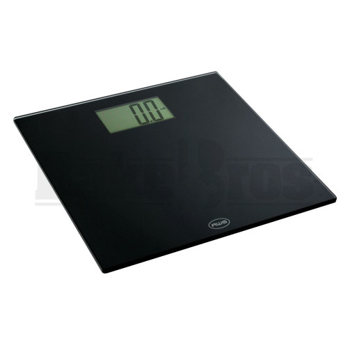 AWS EXTRA LARGE LCD DISPLAY LOW PROFILE HIGH CAPACITY SCALE OM-200 0.2lb 440lb BLACK