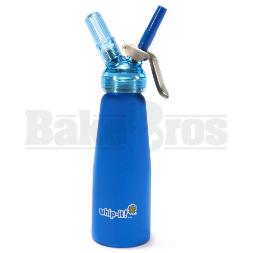 MATTE BLUE WITH TRANSPARENT HEAD Pack of 1 250 ML
