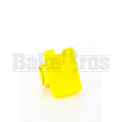 "HIGHER STATE CREATION SILICONE SLAP PACK 2.5"" YELLOW Pack of 1"