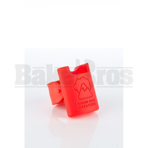 "HIGHER STATE CREATION SILICONE SLAP PACK 2.5"" RED Pack of 1"