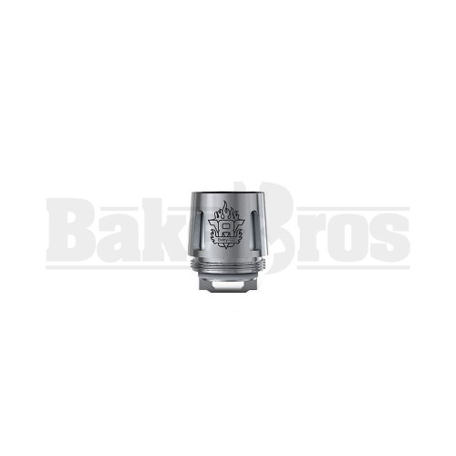 SMOK V8 BABY-Q2 REPLACEMENT ATOMIZER DUAL COIL 55W-65W 0.4 OHM PACK OF 1 SILVER