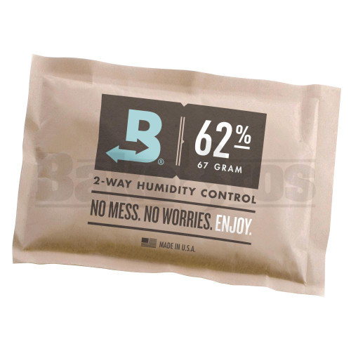 BOVEDA 2 - WAY HUMIDITY CONTROL Pack of 1 62 % RH 67G