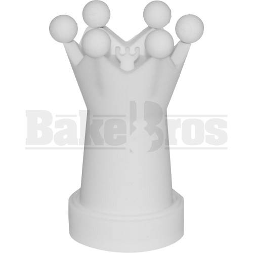 CRUZ CULTURE NAIL CROWN ALL-IN-ONE NAIL-800 WHITE 4.5""