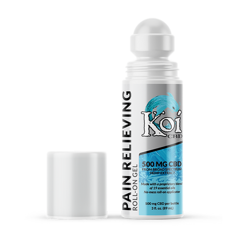 Koi CBD Pain Relieving | CBD Gel Roll-On