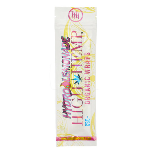 High Hemp Organic Wraps 2 Wraps With 2 Filters Hydro Lemonade Pack Of 2
