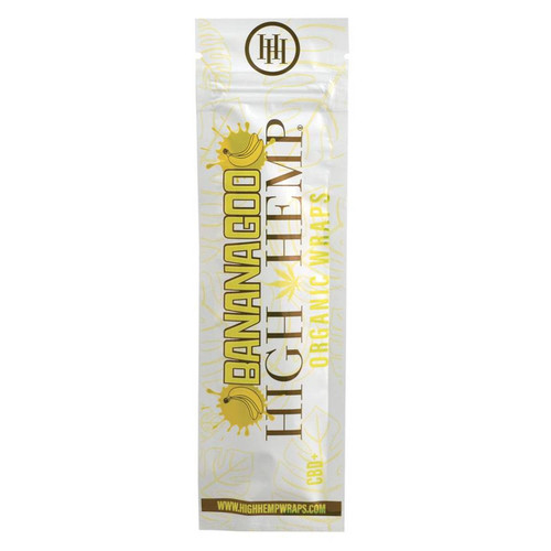 High Hemp Organic Wraps 2 Wraps With 2 Filters Bananagoo Pack Of 2