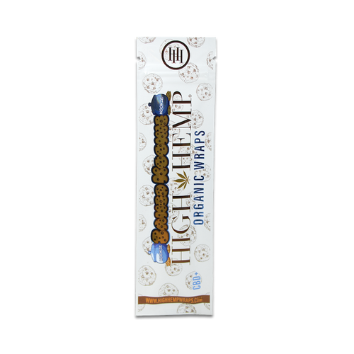 High Hemp Organic Wraps 2 Wraps With 2 Filters Baked Kookie Pack Of 2