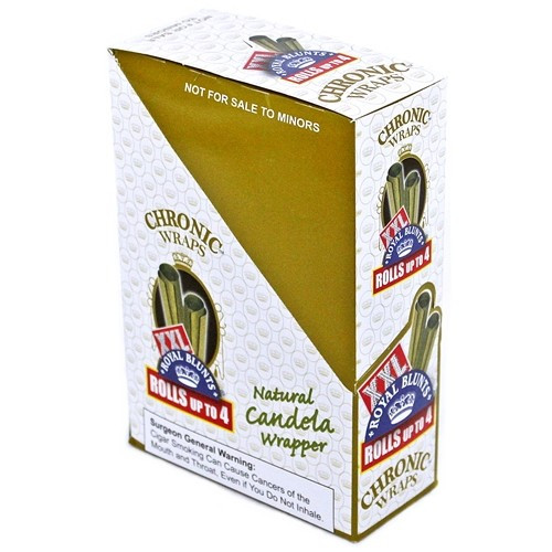 Xxl Royal Blunts K Series Cigar Wraps 2 Per Pack Chronic Pack Of 25