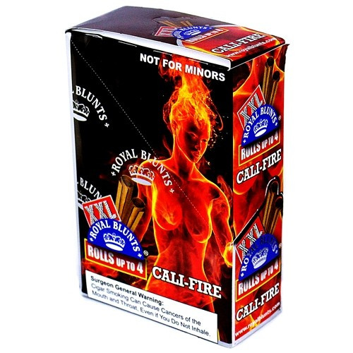 Xxl Royal Blunts K Series Cigar Wraps 2 Per Pack Cali-Fire Pack Of 25