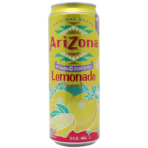 Stash Safe Can Arizona Lemonade 23 Fl Oz