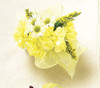 Rays of Gold Wrist Corsage