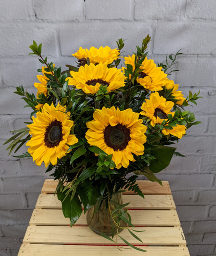 Simple Sunflower Bouquet