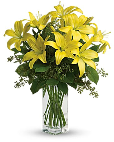 Golden Lily Bouquet