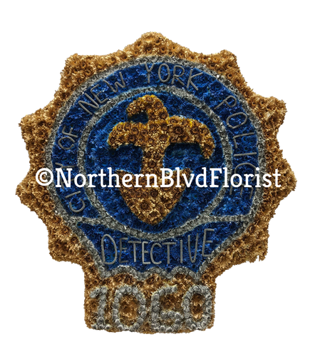 NYPD Detective Badge