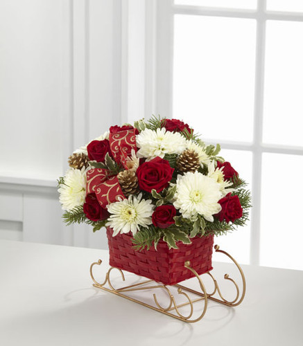 Season's Sleigh Ride Bouquet