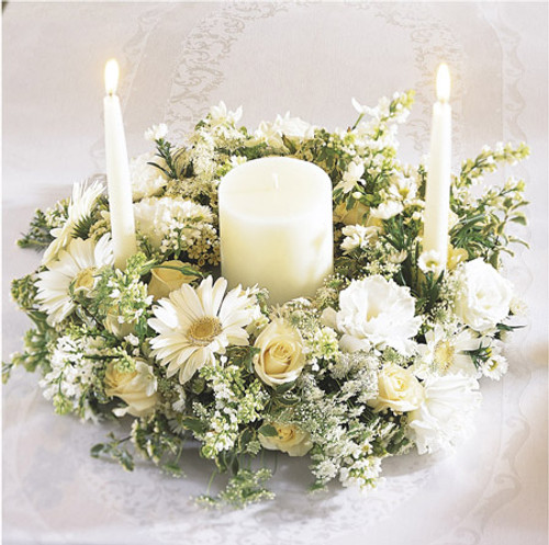 Worldwide Romance Unity Candle Arrangement