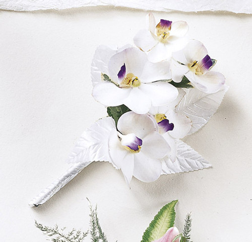 White on White Corsage