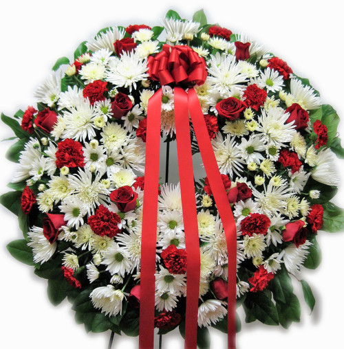 Patriotic Tribute Wreath