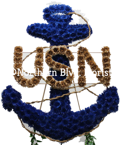 Anchor- Custom Funeral Piece