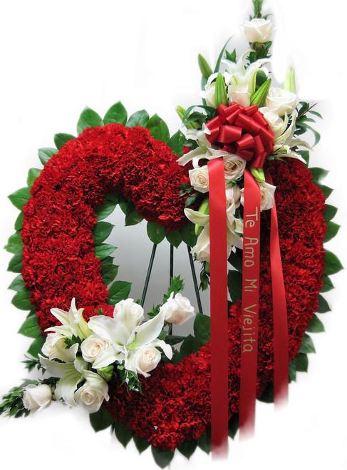 Crimson Open Heart