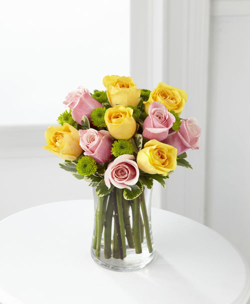 Light of My Life Rose Bouquet