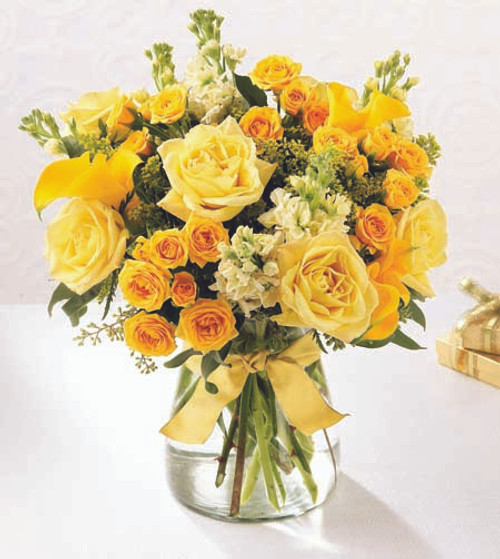 Golden Splendor Bouquet