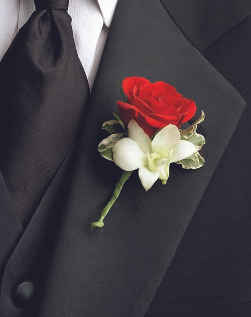 Love Everlasting Boutonniere