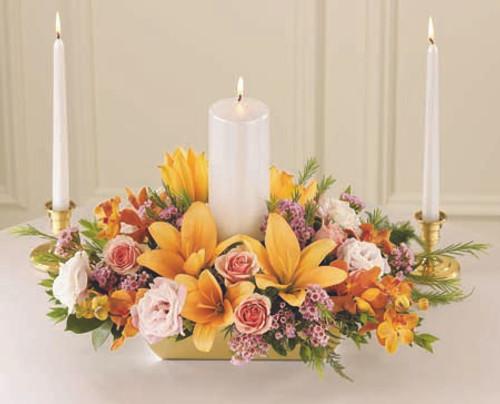 Infinite Love Unity Candle Arrangement