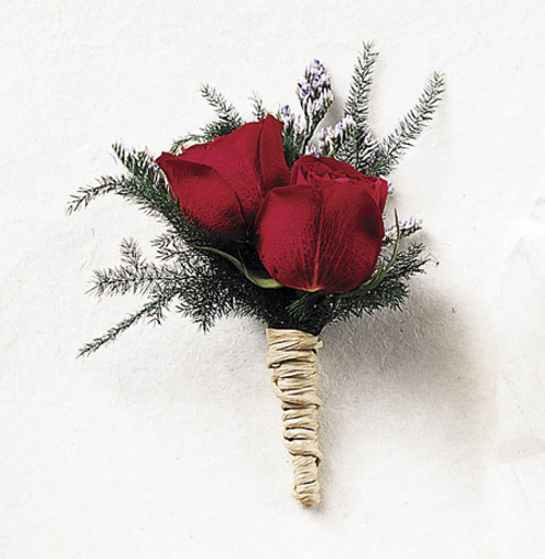 True Happiness Rose Boutonniere