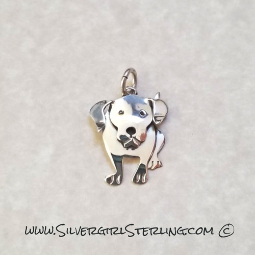 Retriever Pendant  | Sterling Silver Animal & Pet Jewelry