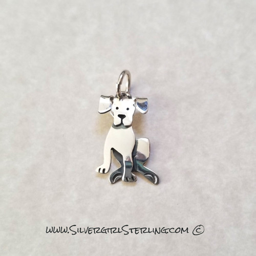 Little Fido Pendant  | Sterling Silver Animal & Pet Jewelry