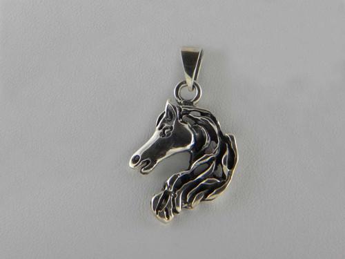 Small Horse Head Pendant