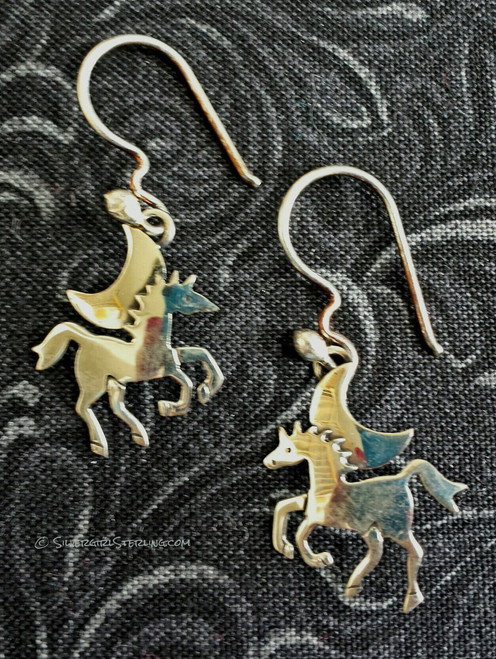 Moonlit Pony Earrings