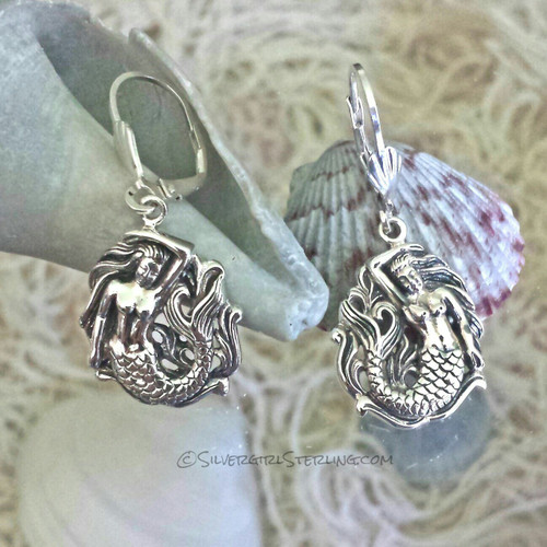 Silvergirl Mermaid Earrings
