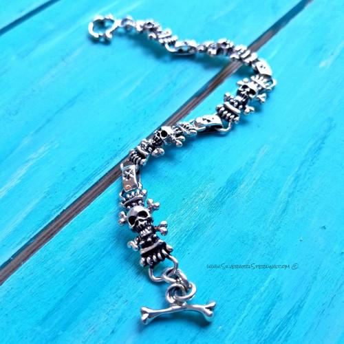 Skull & Crossbones Bracelet