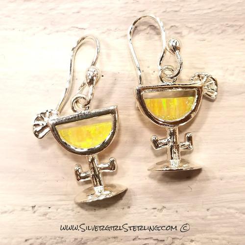 Golden Margarita Earrings