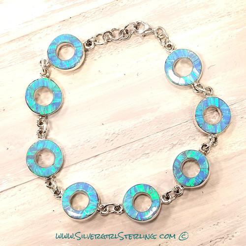 Right Round Opal Bracelet