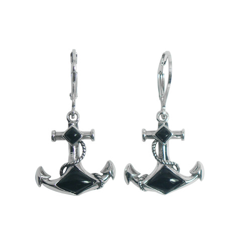 Anchor LB Earrings (2 Colors)