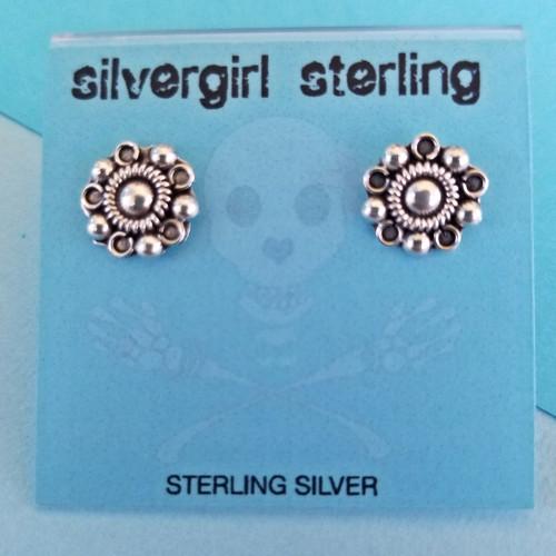 Fancy Tiny Post Earrings