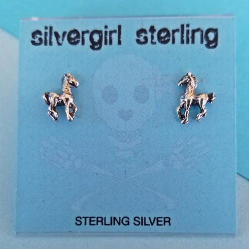 Pony Tiny Post Earrings